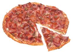 The Meat Lovers Pizza