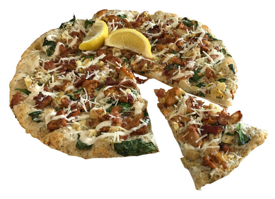The Mighty Caesar Pizza