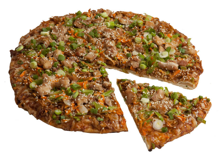 The Thai Chicken Pizza
