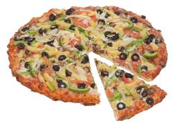 The Veggie Pizza